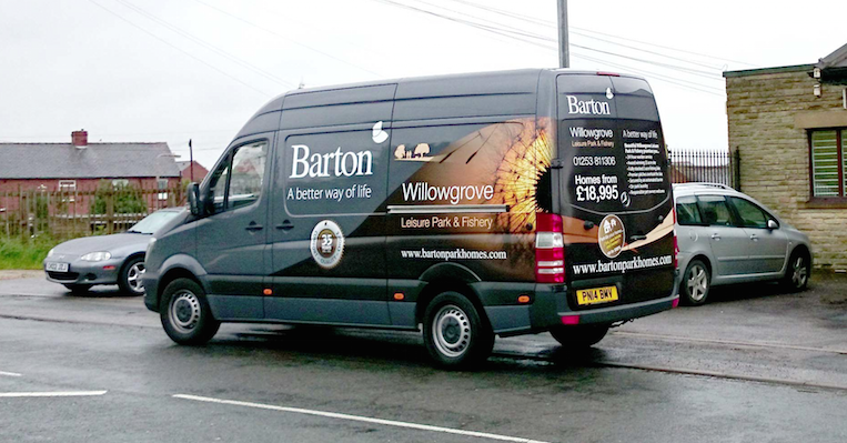 Barton Park Homes Sprinter Van