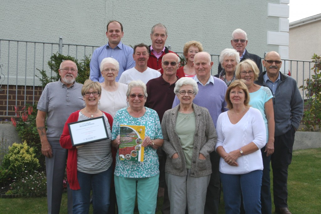 Knaresborough In Bloom Best Neighbourhood 2014