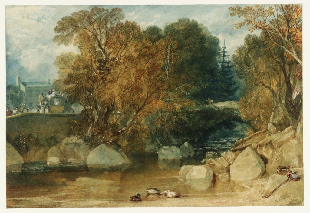 Ivy Bridge, Devonshire circa 1813 by Joseph Mallord William Turner 1775-1851