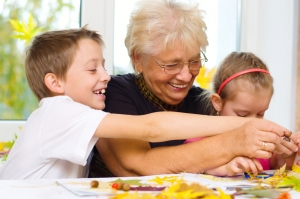 barton park homes arts and crafts with grandchildren