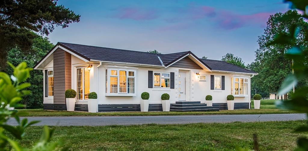 Home exterior at Haytor View Park in Devon